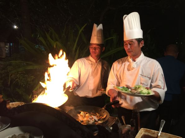 Chefs at a Nusa Dua resort