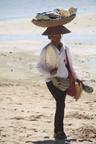 Beach hawker